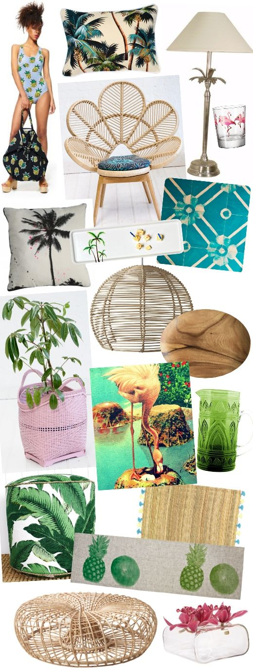 The Weekend Notebook: Paradise Found – Easy Breezy Styling With Tropical Decor