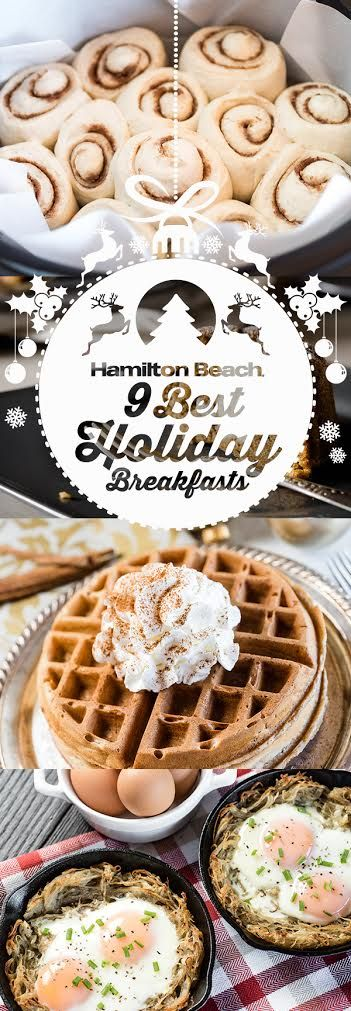 9 Best Holiday Breakfasts