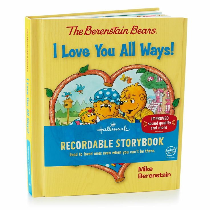 The Berenstain Bears I Love You All Ways!  Recordable Storybook from Hallmark