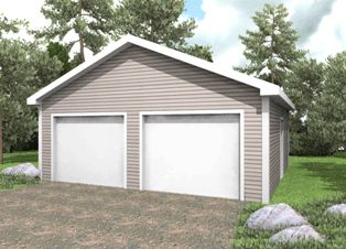 1000 images about hammond lumber garage packages on for 2 bay garage
