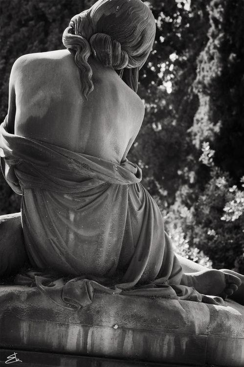 Cimitero monumentale di Staglieno, Genoa, Italy (photographer Enrico Barocci) #cemetery #monument #sculpture #art #funerary_art #mytumblr