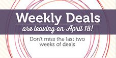 Stampin' Up! - Weekly Deals