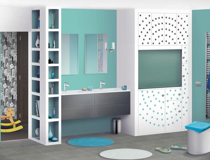 Les 17 meilleures images du tableau salle de bain ado sur pinterest salle de bain enfant - Deco salle de bain enfant ...