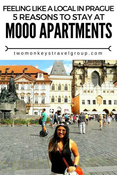 Feeling like a local in Prague, 5 Reasons to Stay at Mooo Apartments | Two Monkeys Travel Group