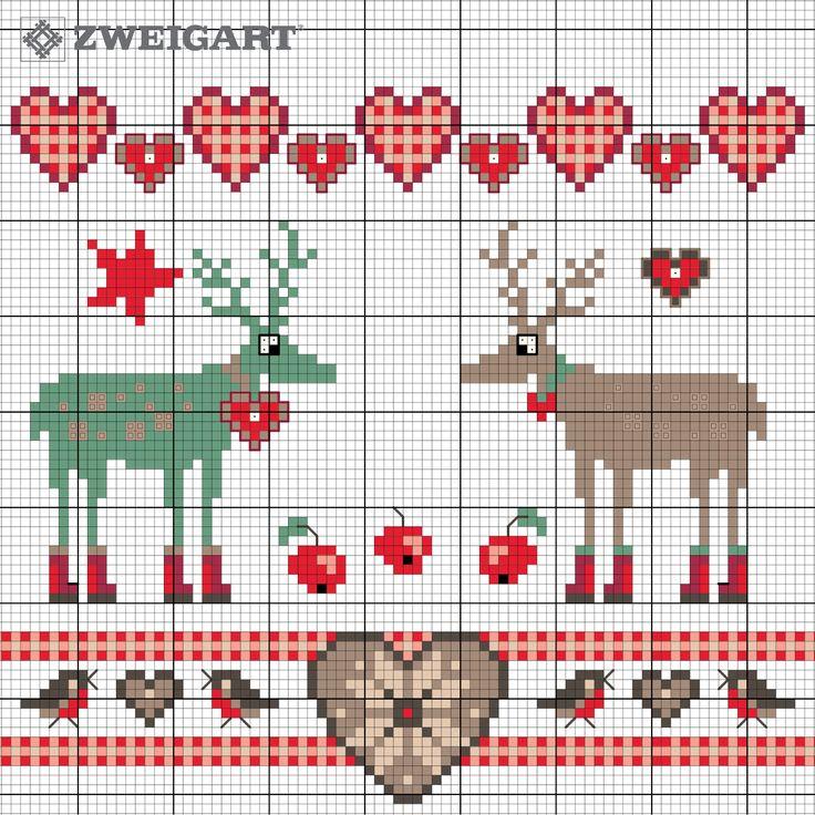 253-weihnachtszeit-elche-freebee