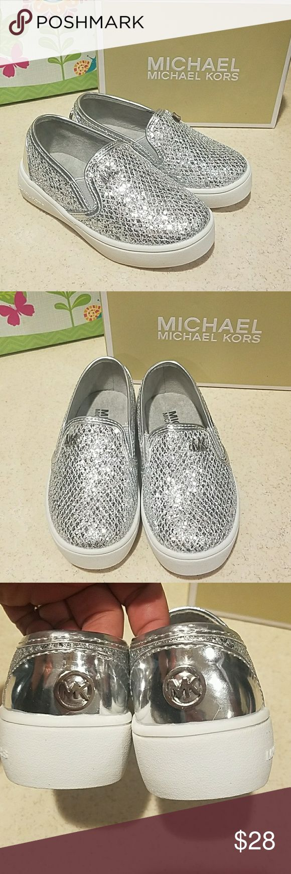 Michael Kors Slip on Sneakers Toddler sz 8 NIB Absolutely GORGEOUS pair of  Michael Kors Slip