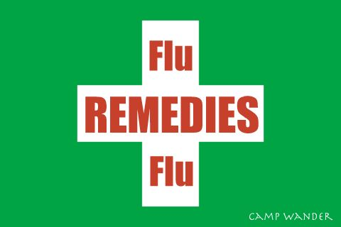 Flu Remedies with Essential Oils & Manuka Honey