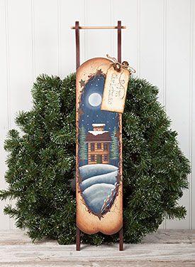 Prim Christmas Sled