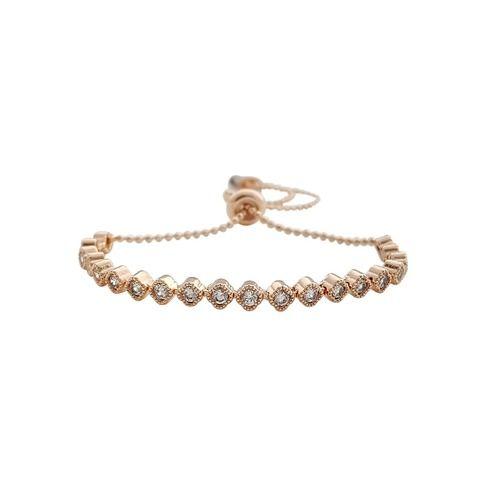 Adjustable Bracelet in Rose gold