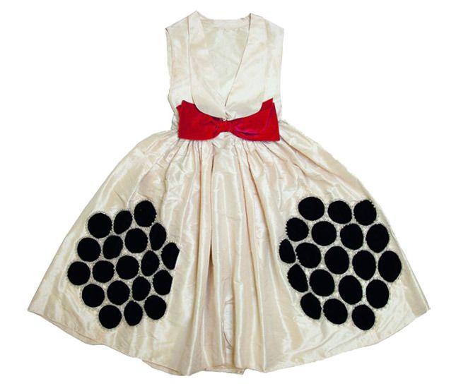 Платье из тафты из коллекции Lanvin осень-зима 1924/25