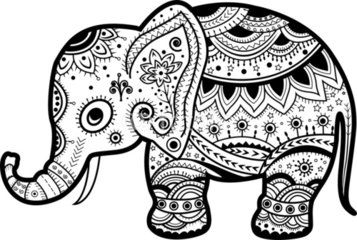 Cute Baby Elephant Tribal Indian Elephant Elephant