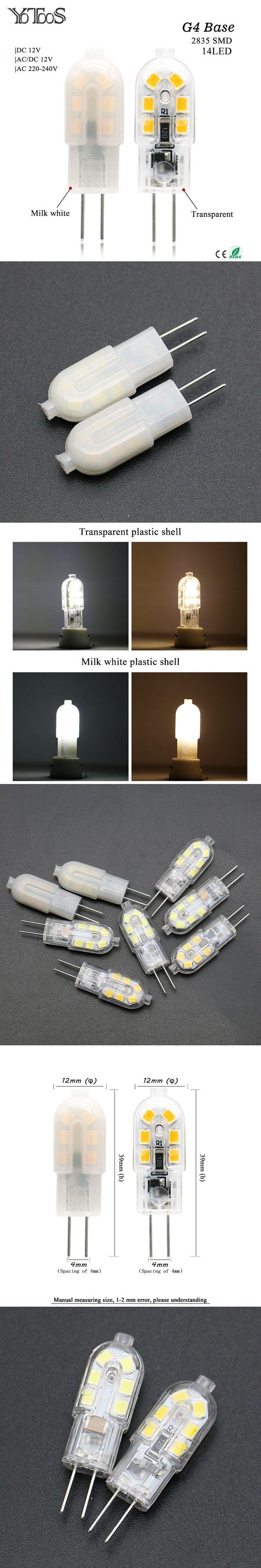 Best 25 g4 led ideas on pinterest industrial table lamps yotoos led lamp mini g4 led corn bulb smd 2835 led light 15w ac arubaitofo Gallery