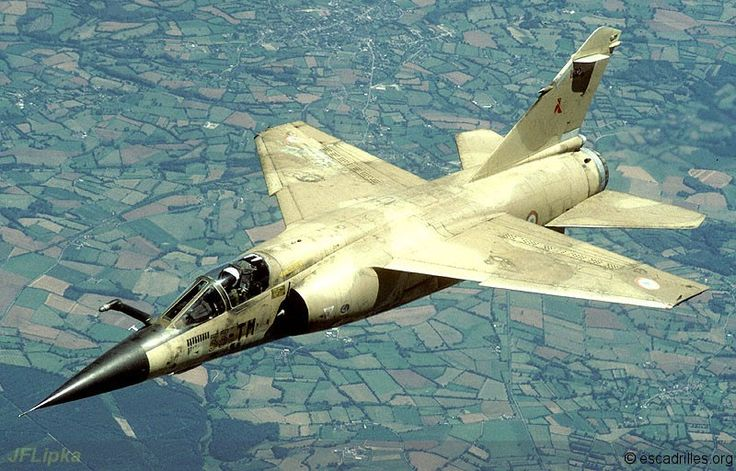 """French Armée de l'Air 1995 - Iraq Veterans, the Dassault Mirage F-1CR of 3/33 will be among the first to be """"restructured""""."""