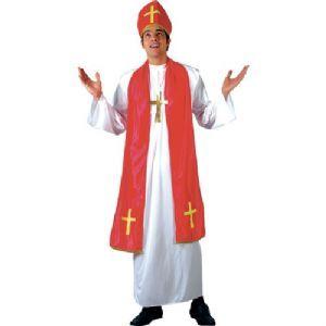 Holy Cardinal Costume,XL priest costume, plus size priest fancy dress costume, fuller figure priest fancy dress costume