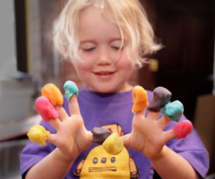 Playdough (aka Play-doh) is easy to make at home, and fun for kids of all ages.  Here's how to make your own non-toxic toy with custom colors and fragrances.