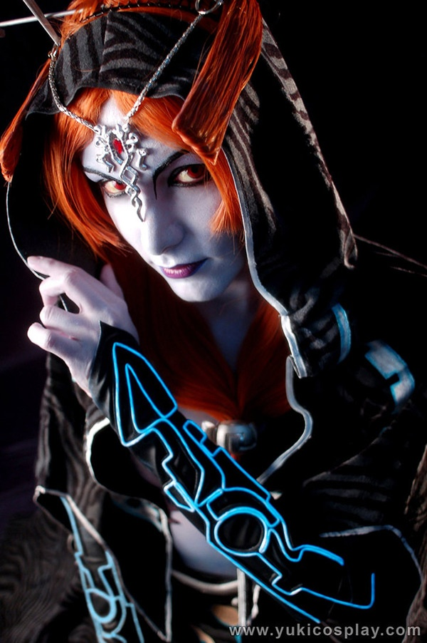 Midna from Twilight Princess.  This cosplayer was amazing in portraying her true form!