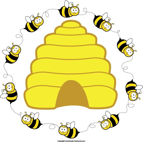 clipart beehive - photo #21