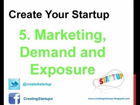 How to Make Money - Create Marketing - Research Demand - Create Exposure for Your Business - http://create-A-startup.com - Networking for your Small Business ...