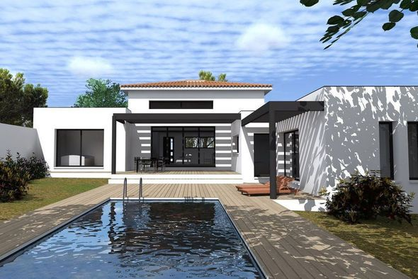 185 best Maisons images on Pinterest Modern homes, Home ideas and