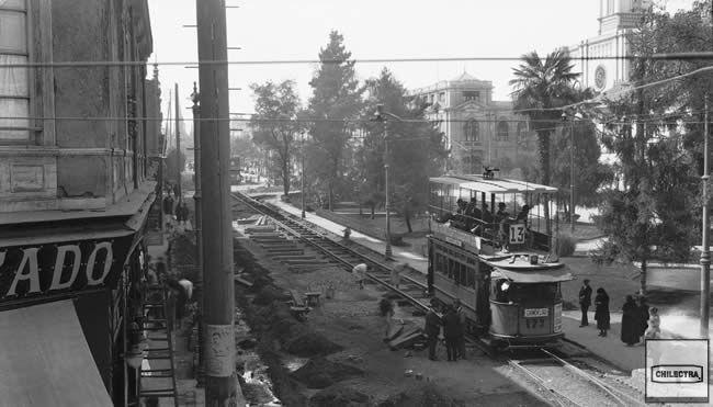 Alameda y San Antonio remodelacion 1921