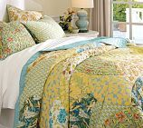 So pretty: Patchwork Quilts,  Comforter, Organizations Patchwork, Master Bedrooms,  Puff, New Bedrooms, Guest Rooms, Pottery Barns, Quilts Barns
