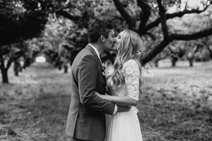 Wedding Photos, Vintage Wedding, Boho Wedding, Sunset, Wedding Dress, Flowercrow…