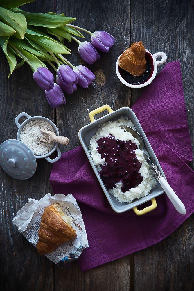 picante-jalapeno.blogspot.com: Pudding ryżowy z sosem jagodowym
