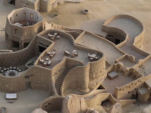 sand castle hotel in Egypt