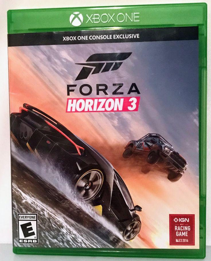 FORZA HORIZON 3 FOR MICROSOFT XBOX ONE X RACING GAME