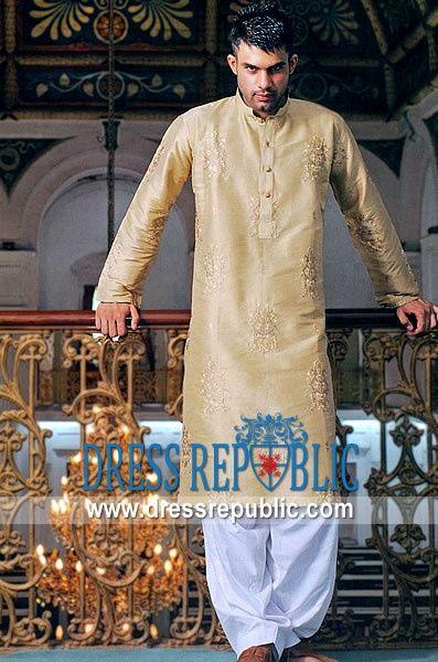 Eid Men Kurta Shalwar Kameez Designs 2015-2016 | StylesGap.com