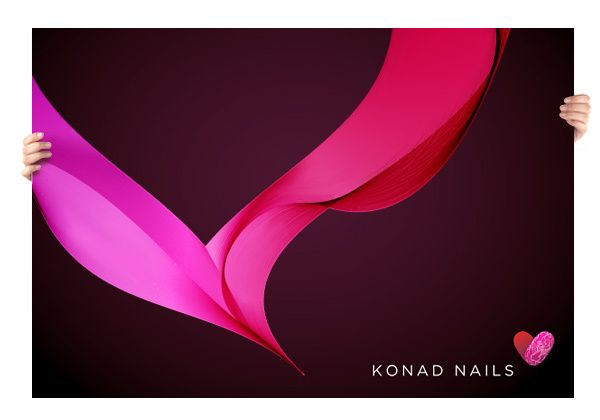 Konad Nails Corporate Identity by Higher