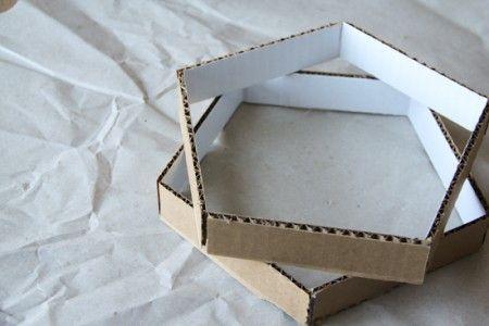 Como hacer una bonita lámpara de carton