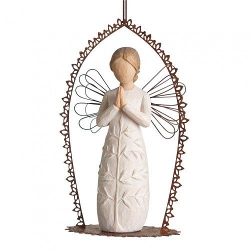 Engel a prayer Trellis Ornament