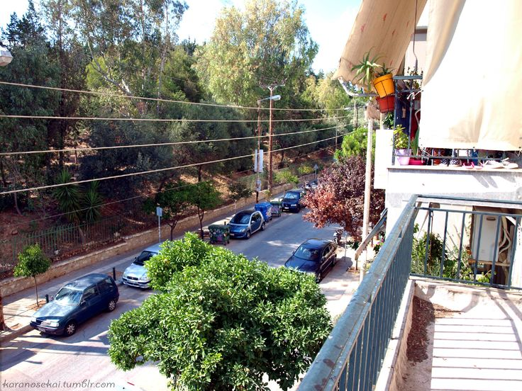 02.07.2014 - View from the roof of the house #greece #piraeus #nikaia