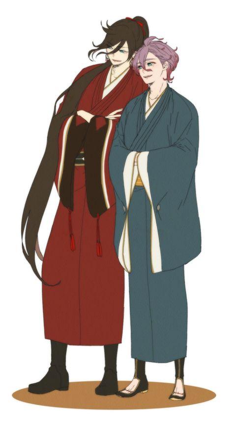 Tōken Ranbu - Izuminokami Kanesada and Kasen Kanesada