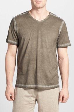 Daniel buchler powder wash peruvian pima cotton t shirt for Peruvian cotton t shirts