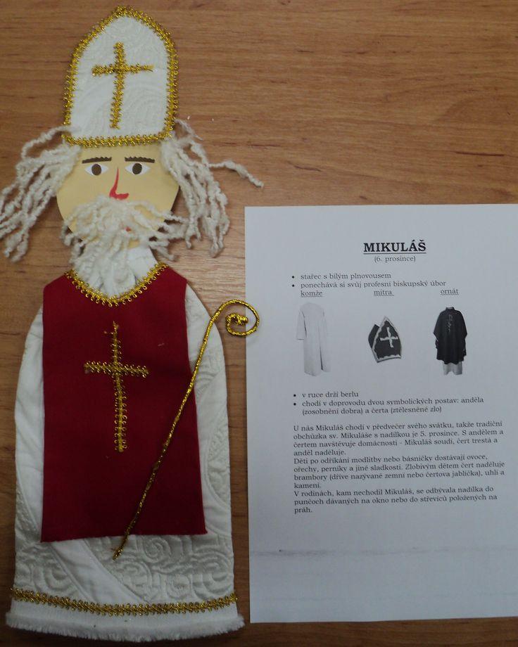 Postavy adventu a Vánoc - Mikuláš