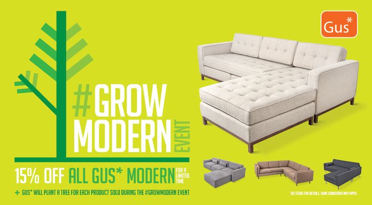 SALE ON ALL GUS MODERN FURNITURE & ACCESSORIES AT JOURNEY IN DUMBO 72 FRONT ST. BKLYN
