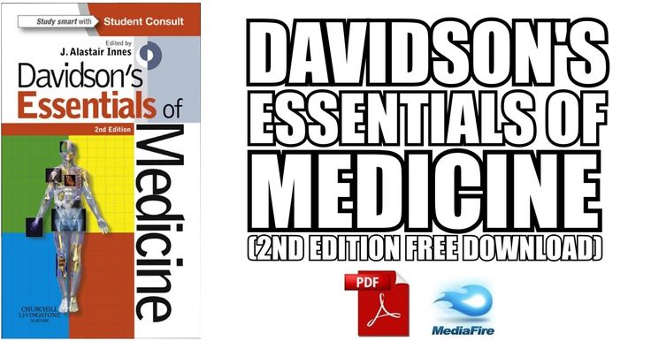 This article contains Davidson's Essentials of Medicine 2nd Edition PDF free download using direct links. Download Davidson's Medicine.