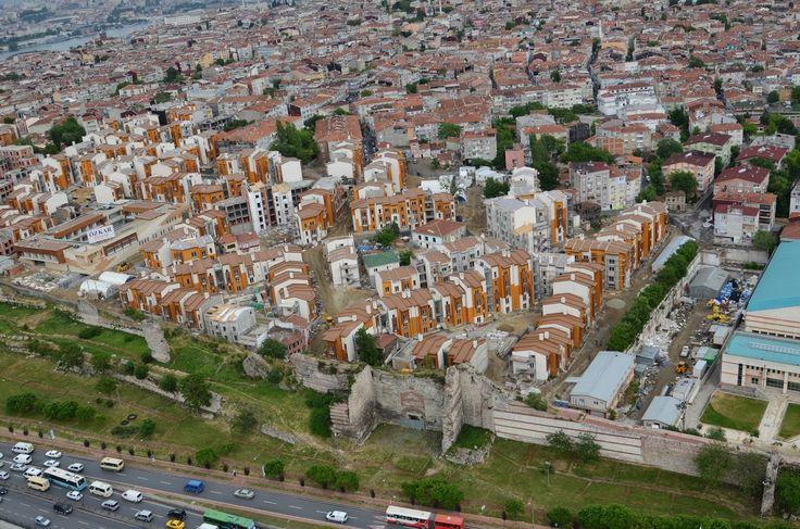 ucuyorum: sulukule yeni yerleşimleri edirnekapı istanbul
