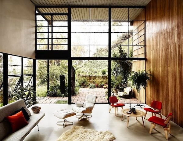 Herman Miller's Mid Century Collection Showcased in Eames House