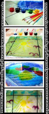 Kreatywne nauczanie: MALOWANIE NA ŻELATYNIE