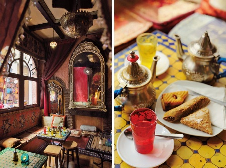 アラブの喫茶店