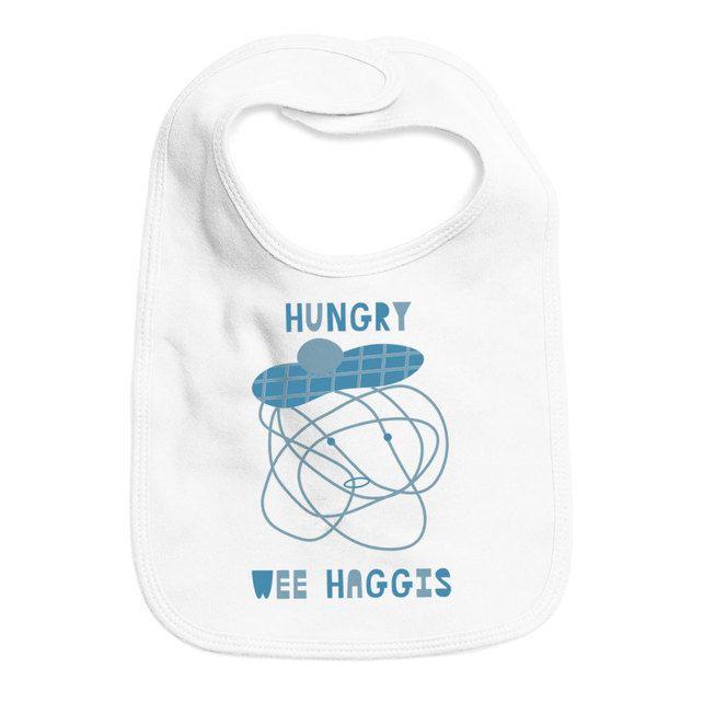 Hungry Wee Haggis (Baby Bib) £8.50