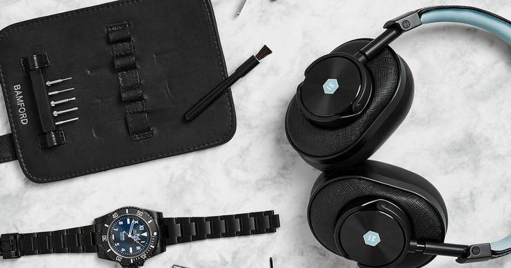 Master & Dynamic and Bamford Watch Department team up for these cool-as-ice wireless cans