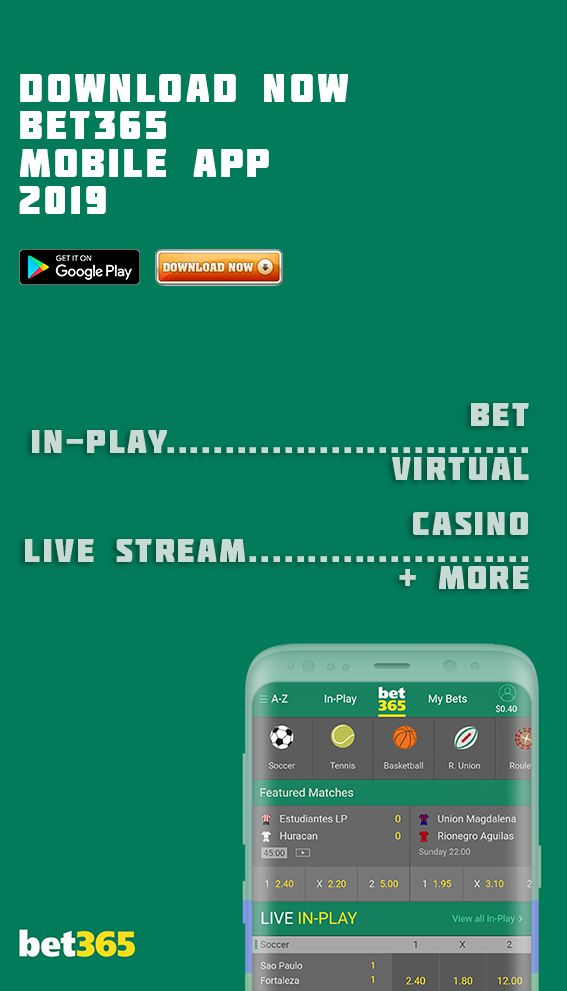 Bet365 app for tablet