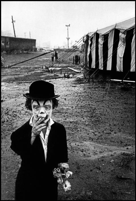 Circus photographed by Diana Arbus