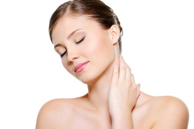 What are the key symptoms of thyroid cancer?: Neck enlargement, a lump, or neck pain are some symptoms of thyroid cancer.