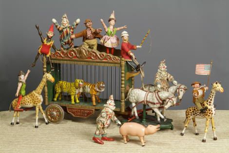 circus toys... a lot of little animals one plays with.