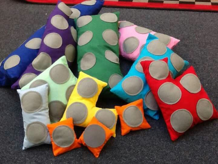 Numicon cushions!